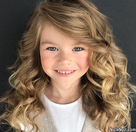 زیباترین دختر بچه جهان در سال 2020