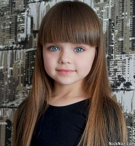 زیباترین دختر بچه سال