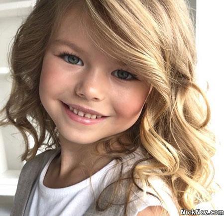 زیباترین دختر بچه جهان در سال 2020 آلینا یاکوپوا