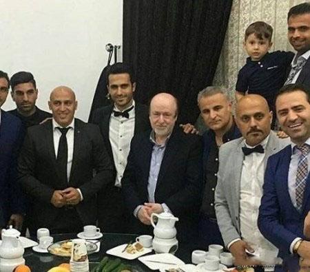 عکس های لو رفته شب عروسی علی قربانی