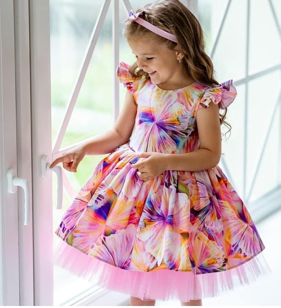 مدل لباس مجلسی دختربچه جدید
