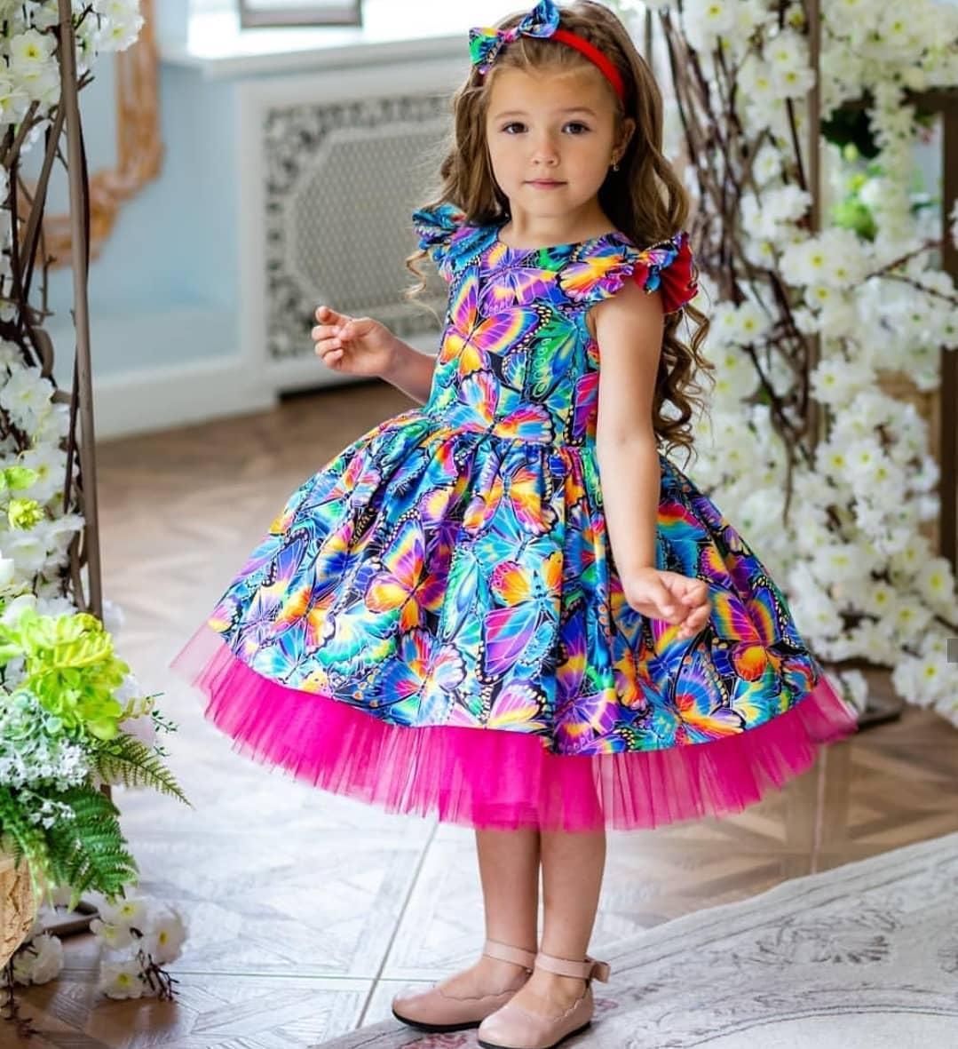 مدل لباس مجلسی دختربچه ها