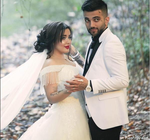 عکس عروسی پ.یان مختاری و نیلی افشار