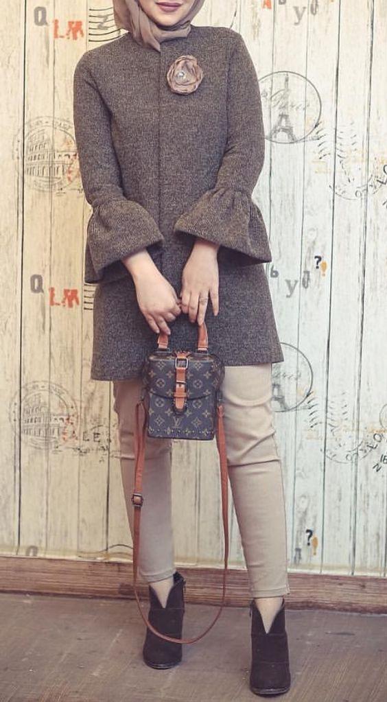 مدل مانتو اسپرت پاییزی دخترانه