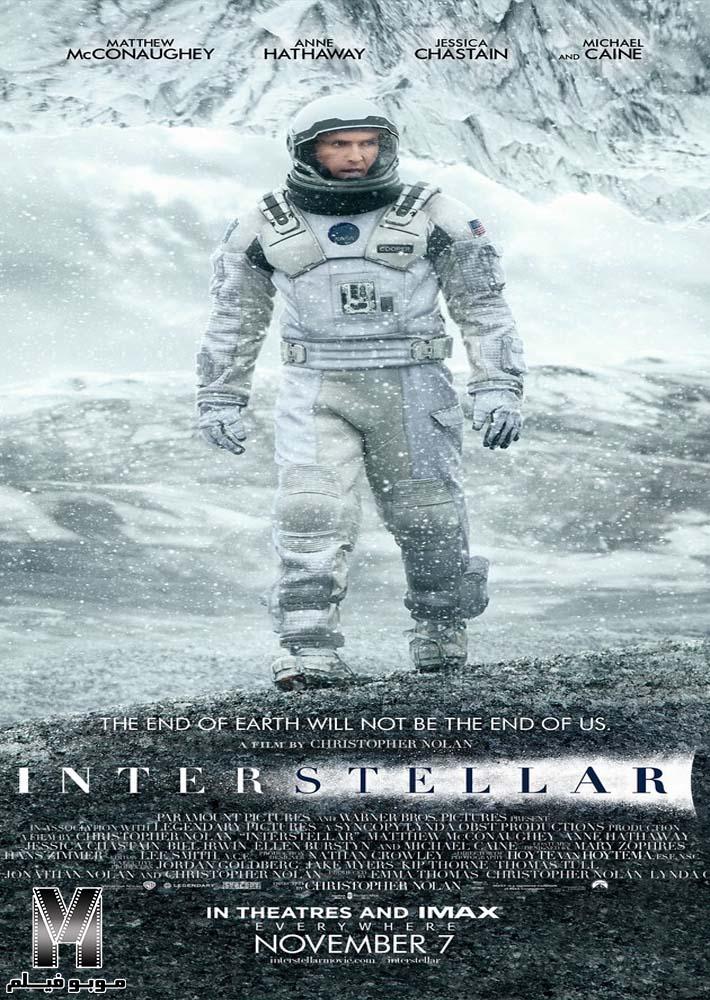 دانلود فیلم Interstellar 2014 با زیرنویس فارسی چسبیده + دوبله