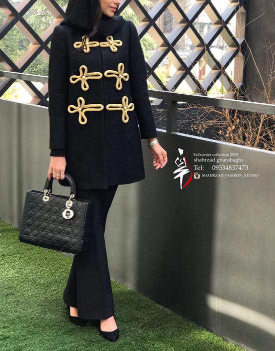 مدل مانتو زمستانی ایرانی جدید