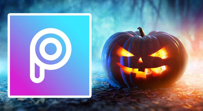 آموزش افزودن افکت های ترسناک در اپلیکیشن PicsArt