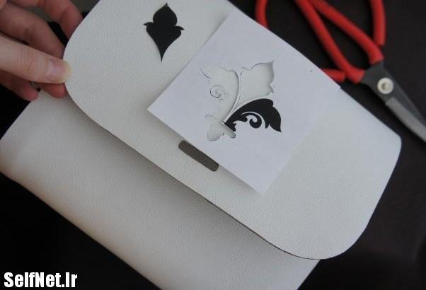 آموزش تصویری ساخت کیف چرم