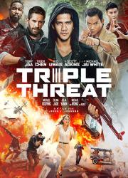 دانلود فیلم تهدید سه گانه با دوبله فارسی Triple Threat 2019 BluRay