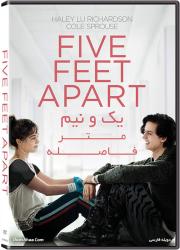 دانلود دوبله فارسی فیلم یک و نیم متر فاصله Five Feet Apart 2019