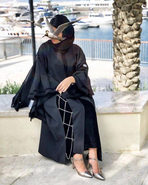 مدل عبا عربی سنگ دوزی شده
