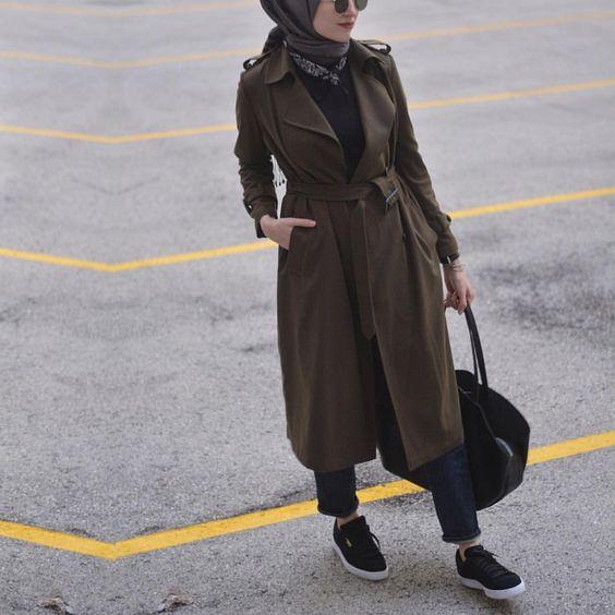 مدل مانتو پاییزه دخترانه در اینستاگرام