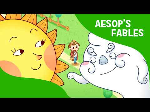 داستان برای کودکان-انگلیسی-The Sun and the Wind | Aesop's Fables
