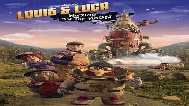 انیمیشن ماموریت به ماه-دوبله-Louis & Luca: Mission to the Moon 2018