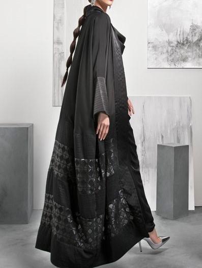 مدل مانتوی عبایی بلند
