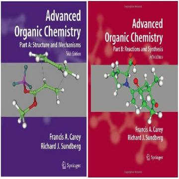 حل تمرین کتاب شیمی آلی پیشرفته Carey و Sundberg - ویرایش پنجم