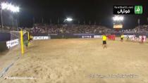 خلاصه فوتبال ساحلی ایران 1-1 امارات (پنالتی 4-3 )