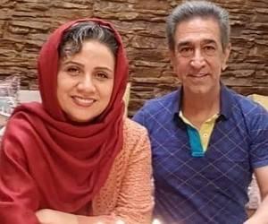 فلورا سام و همسرش مجید اوجی