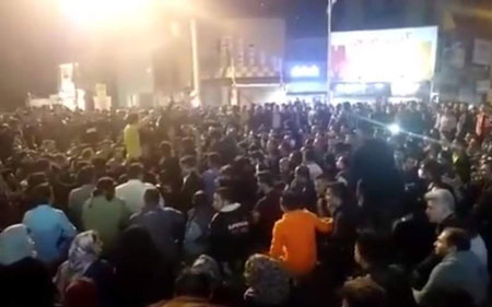 فیلم و عکس اعتراضات گرانی بنزین در شهر های ایران