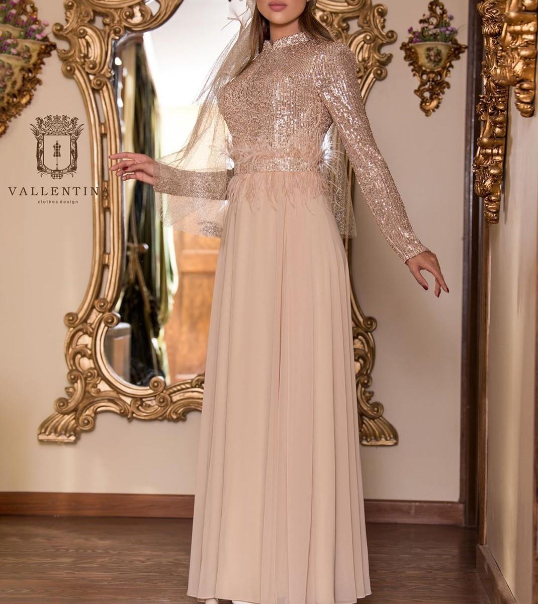 مدل لباس مجلسی بلند دخترانه نامزدی