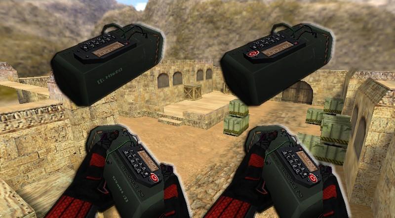 دانلود اسکین Improved C4 ReD HandS برای کانتر استریک 1.6