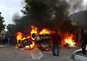 خسارت آشوبگران به پایتخت