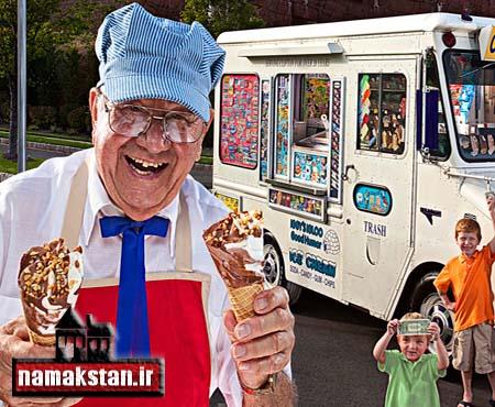 عجیب ترین رکورد گنیس پر سابقه ترین بستنی فروش