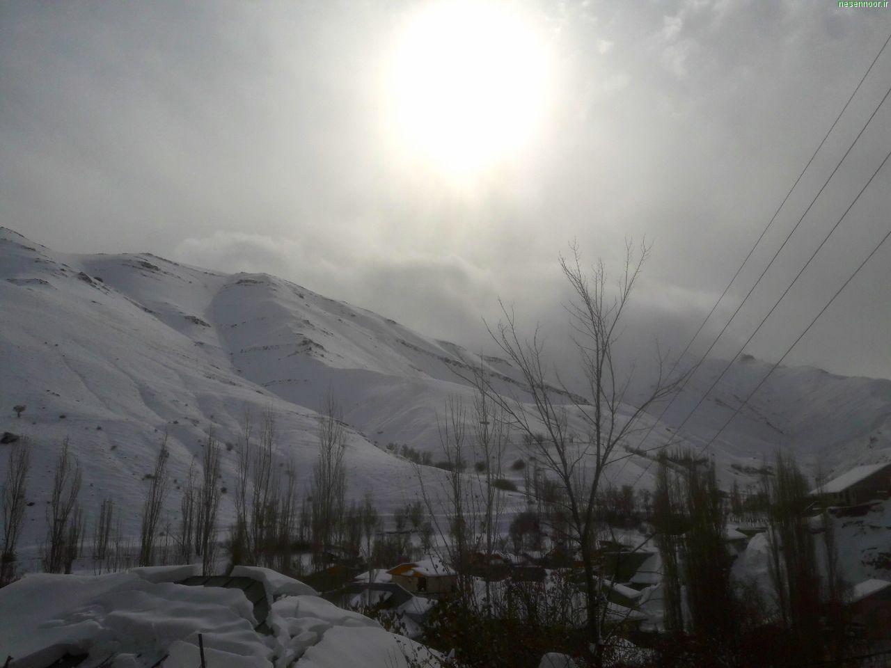 برف آبان 98