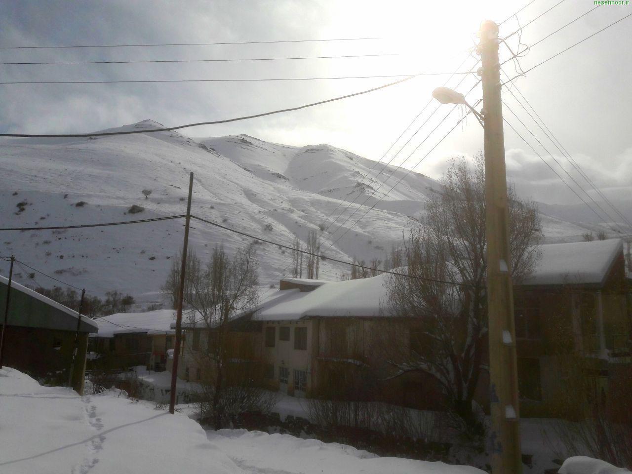 برف پاییز 98