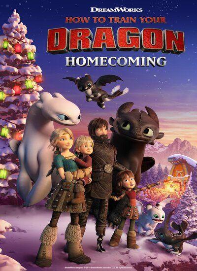 دانلود انیمیشن How to Train Your Dragon Homecoming 2019