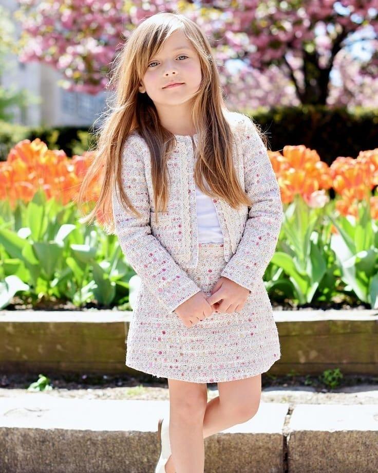 مدل لباس زمستانی بچه گانه دختر