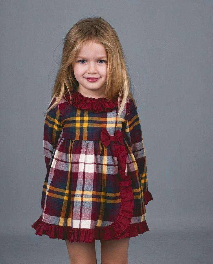 مدل لباس زمستانی بچه گانه مجلسی