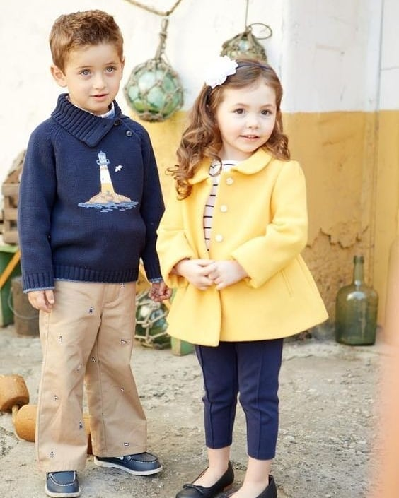 مدل لباس زمستانی بچه گانه دختر و پسر