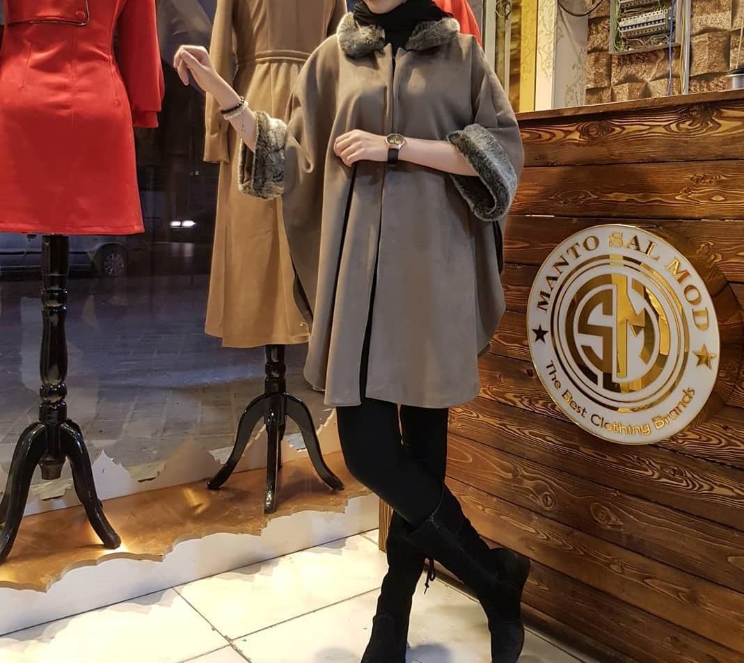 مدل مانتو زمستانی دخترانه شیک2019