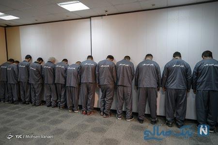 دستگیر شدگان اغتشاشات تهران را ببینید + عکس تظاهرات