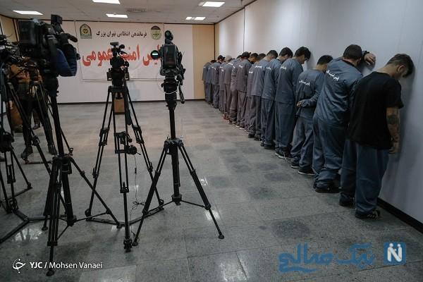 عکس دستگیر شدگان اغتشاشات تهران