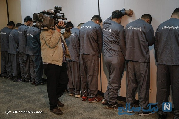عکس های  دستگیر شدگان اغتشاشات