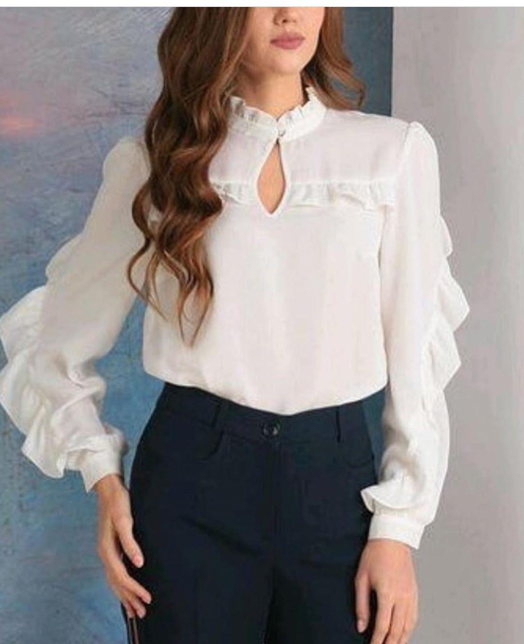 مدل شومیز دخترانه 2019