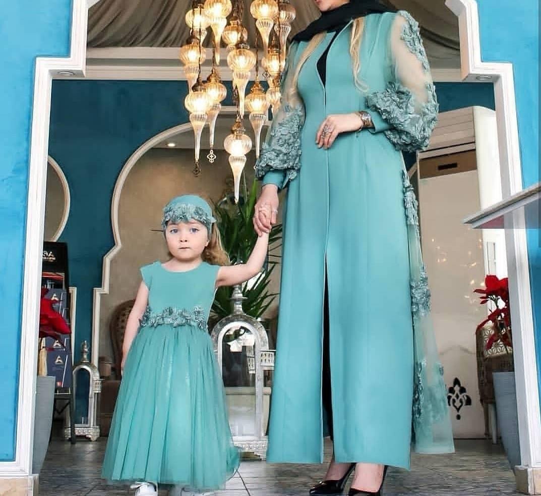 جدیدترین ست لباس مادر دختر