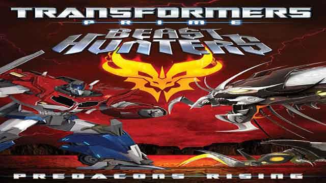 انیمیشن ترانسفورمرز دوبله-Transformers Prime Beast Hunters: Predacons Rising 2013