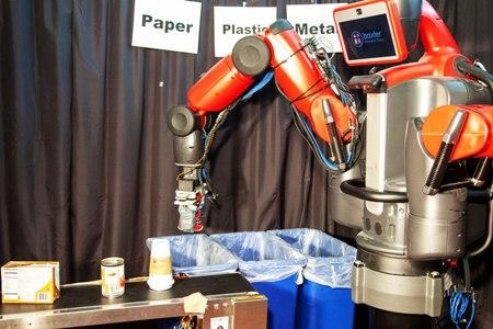 ربات ها می توانند مواد بازیافتی را دسته بندی کنند