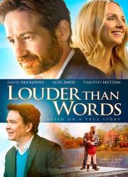 دانلود دوبله فارسی فیلم گویاتر از کلام Louder Than Words 2013