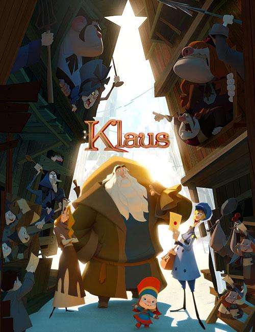 دانلود انیمیشن کلاوس با دوبله فارسی Klaus 2019