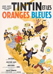 دانلود دوبله فارسی فیلم Tintin and the Blue Oranges 1964