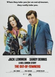 دانلود دوبله فارسی فیلم The Out of Towners 1970