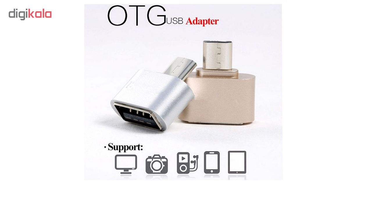 مبدل USB به USB-C مدل OTG PLUS USB