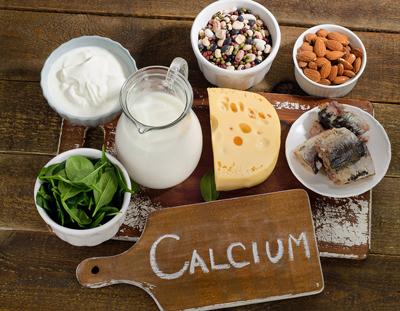 کلسیم بادام،میزان مصرف کلسیم