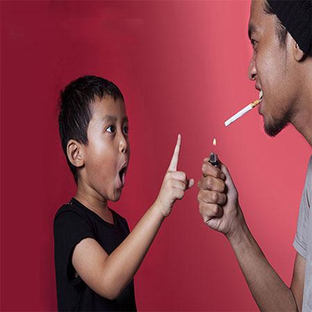 صحبت کردن با کودکان در مورد مضرات سیگار