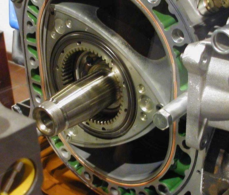 موتور وانکل- موتور دورانی