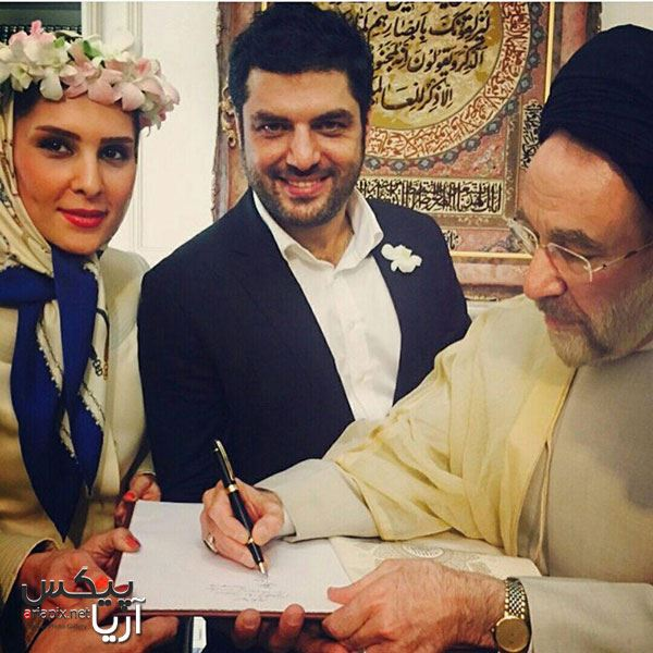 عکس های مراسم ازدواج عقدی سام درخشانی